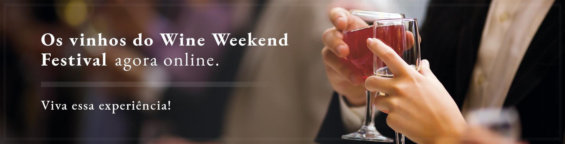 Banner Evento Wine Weekend
